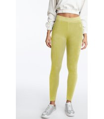 women's velour legging tack pant