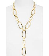 women's karine sultan link y-necklace