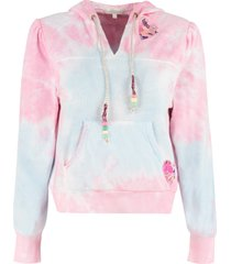 loveshackfancy kirby cotton hoodie