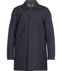 mono breasted wool and viscose coat