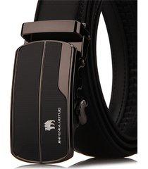 cintura di vita dell'inarcamento durevole della cinghia di cuoio genuina di affari degli uomini 125cm