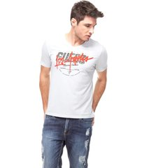 t-shirt classic edition guess - cinza - masculino - dafiti