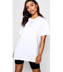 basic oversized boyfriend t-shirt, wit