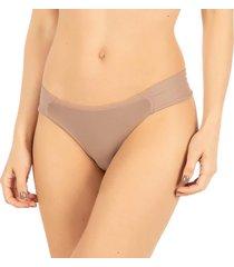 calcinha borboleta nozes - 532.026 marcyn lingerie básica bege