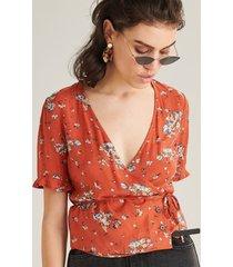 24 colours blouse rood 30219a