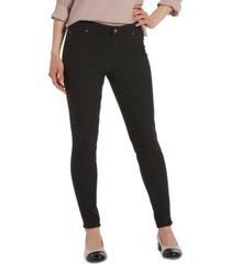 hue women's fleece-lined denim leggings