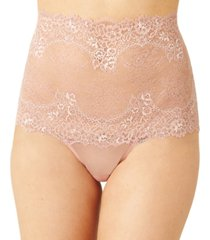 wacoal women's level up lace high-waist thong underwear 844369