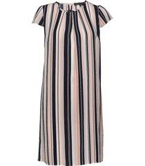 dress short 1/2 sleeve knälång klänning multi/mönstrad betty barclay