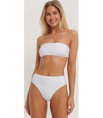 paola locatelli x na-kd bikinitrosa med hög midja - white