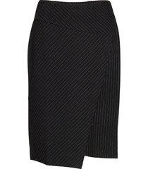 skirt-jersey knälång kjol svart brandtex