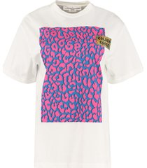 golden goose golden printed cotton t-shirt