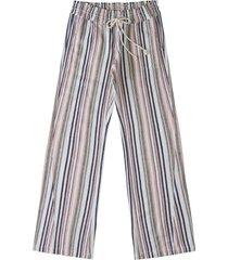women's roxy oceanside tie waist pants, size x-small - pink