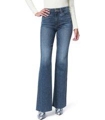 women's joe's flawless the molly high waist cut hem flare jeans
