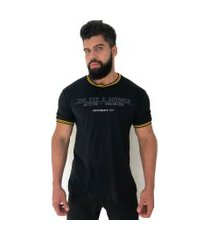 camiseta advance clothing college deluxe preto