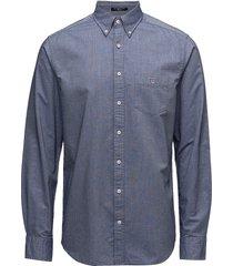 the oxford shirt reg bd overhemd business blauw gant