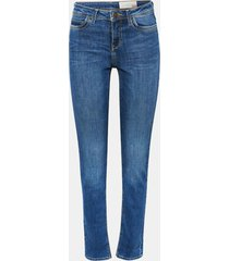 jeans slim medium rise denim esprit