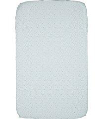conjunto de lençol para berço portátil next2me e next2magic com 2 peças - light blue