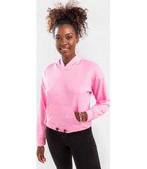lana active bungee hoodie - pink