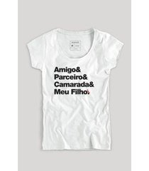 camiseta filho camarada fem reserva masculina