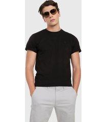 camiseta negro royal county of berkshire polo club