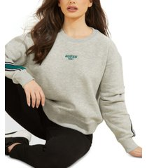 guess logo print sweatshirt