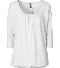 maglia oversize (bianco) - rainbow