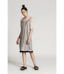 sukienka jedwabna babette