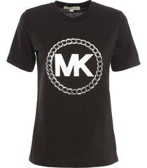 chain logo t-shirt