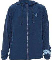 jaqueta hurley windbreaker block party masculina
