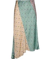 radiant skirt knälång kjol grön odd molly