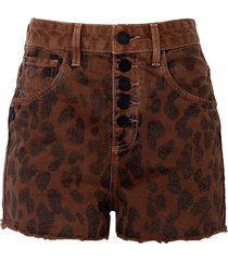 shorts john john alto carvers feminino (estampado, 50)