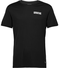 perf tee m night night t-shirts short-sleeved svart björn borg