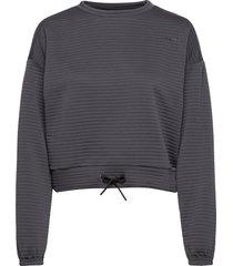 adv charge sweatshirt w sweat-shirt tröja grå craft