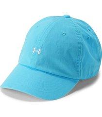 gorra under armour favorite logo-azul