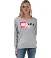 womens dial crew sweatshirt