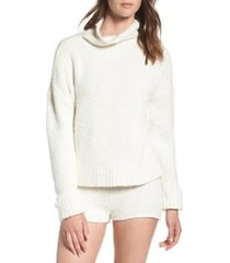 women's ugg sage cowl neck pullover, size large - ivory
