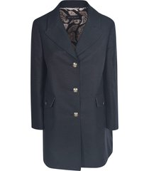 etro mid-length buttoned coat