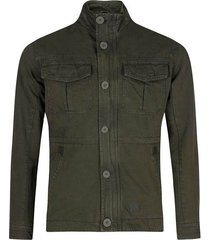 chaqueta de algodón cuello alto para hombre 97757