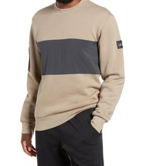 men's alo traverse mixed media pullover