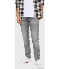 jean gris pepe jeans hatch denim