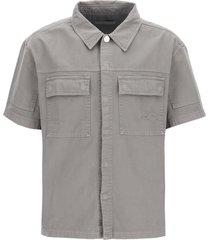 a-cold-wall short sleeve denim shirt