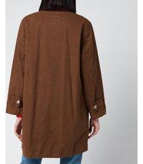 barbour x alexa chung women's maud casual jacket - sand - uk 14