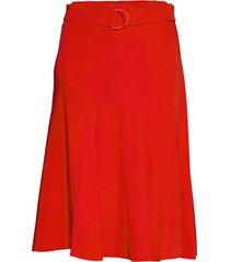 ufo knälång kjol röd sportmax code