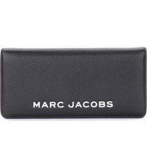 black and white the marc jacobs the bold open face wallet