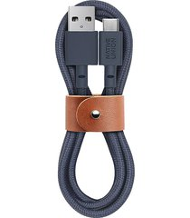 belt usb-a to usb-c charging cable - marine