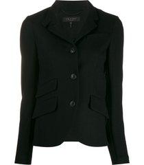 rag & bone buttoned jacket - black