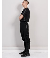 spodnie harlem zip black