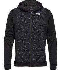 m train n logo hybrid insulated jacket fodrad jacka svart the north face