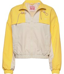 celeste windbreaker fun yellow outerwear jackets anoraks levi´s women