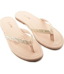 sandalias beige color rosado, talla 35